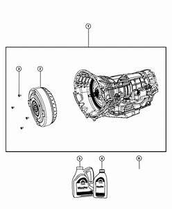 2016 Jeep Wrangler Fluid  Automatic Transmission Atf 4  5