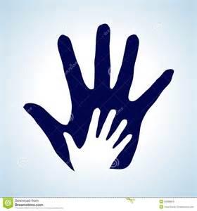 Helping Hands Symbols Clip Art