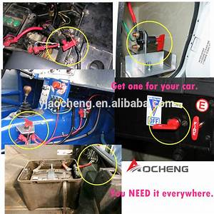 Europe Popular 200a Fia Battery Master Switch A803