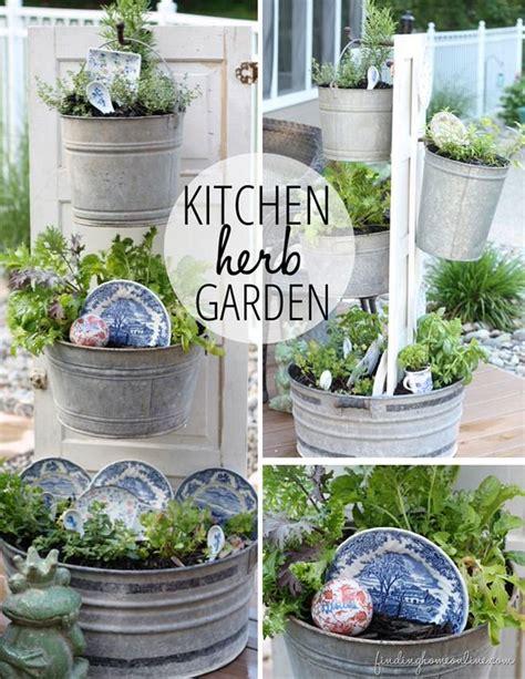 creative outdoor herb gardens the garden glove