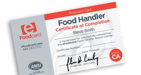 Maybe you would like to learn more about one of these? California Food Handlers Card - $7.99 | eFoodcard