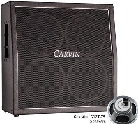 carvin legacy cabinet 4x12 carvin gc412t cabinet slant 4x12 station music
