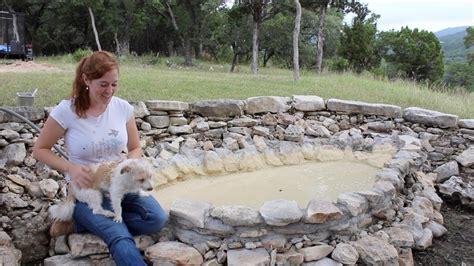building  dog pool   rock youtube