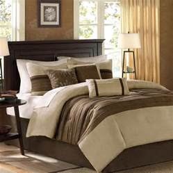 beautiful modern elegant beige tan brown soft comforter set king cal queen szs ebay