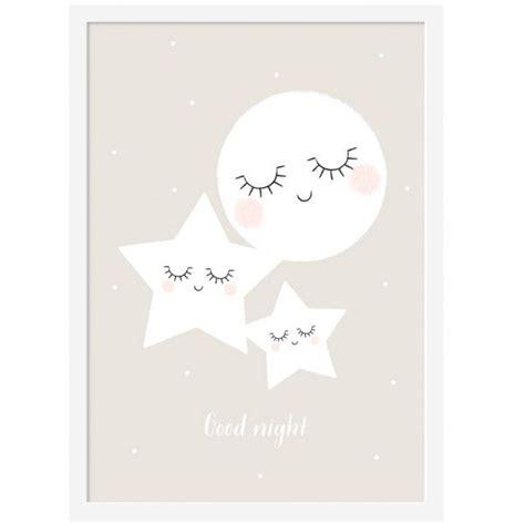 poster chambre affiche bonne nuit zü my bazar décoration pour