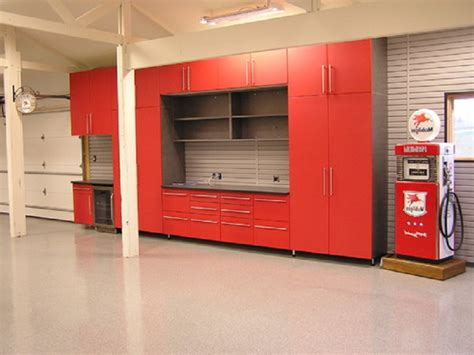 Man Cave Garage Designs With Horeb Garage Cabinets And