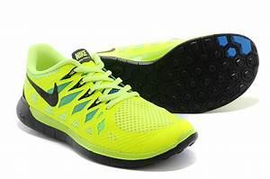 Cheap Nike Free 5.0 2014 Neon Green Black Running Shoes ...