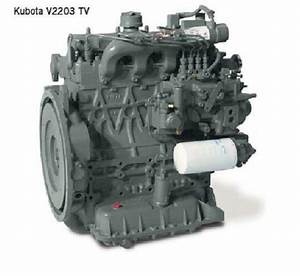 Kubota V2203 Di Diesel Tier 2 Reefer Unit Engine