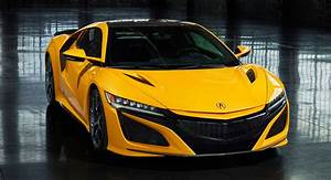 2020 Acura NSX Debuts Second Heritage Color, Indy Yellow ...