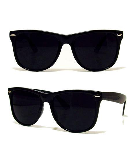 black l shades new retro black aviator sunglasses shades 80s