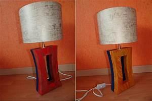 Fabriquer Une Lampe De Chevet : fabrication lampe de chevet en carton cr ation meuble en ~ Zukunftsfamilie.com Idées de Décoration