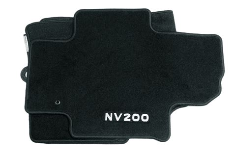 floor mats nissan nissan nv200 genuine car floor mats textile tailored front