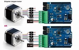 Arduino - Control Step Motor Precisely Via Web