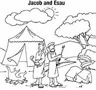 jacob y isaac colouring pages page 2