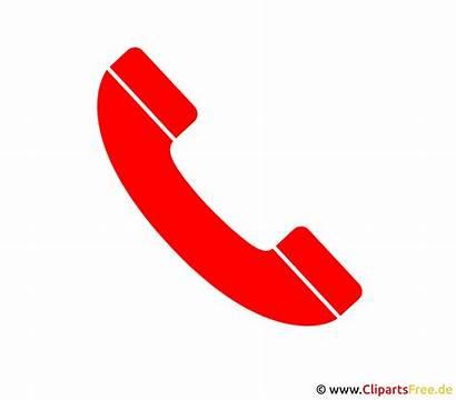 Telephone Rouge Telefon Piktogramm Clipart Transparent Telefono
