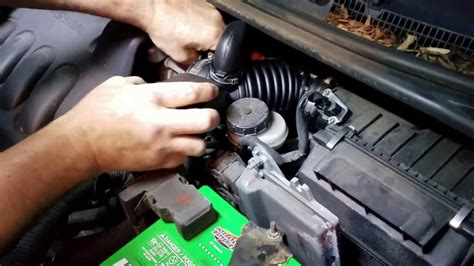 nissan sentra    intake tube replacement youtube