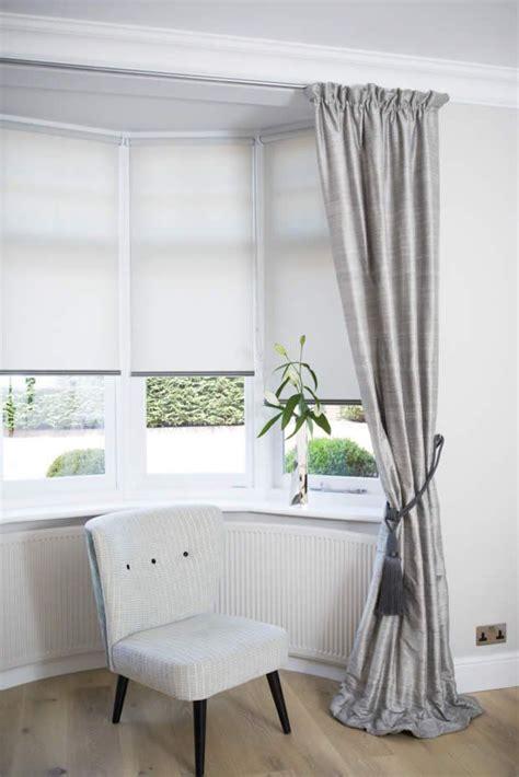 curtains blinds bay windows lounge bay window