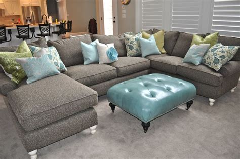 Gray Sectional Living Room Ideas by Cool Grey Sectional Couch Steveb Interior