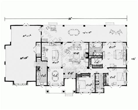 1 Story Open Floor Plans by Home Plans With Open Floor Plans Single Story July 2019