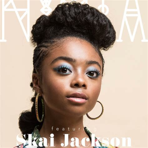 [Close Up] Skai Jackson Rocks Edgy Braided Pompadour For