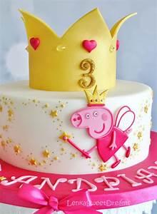 Princess Peppa Pig Cake - CakeCentral com