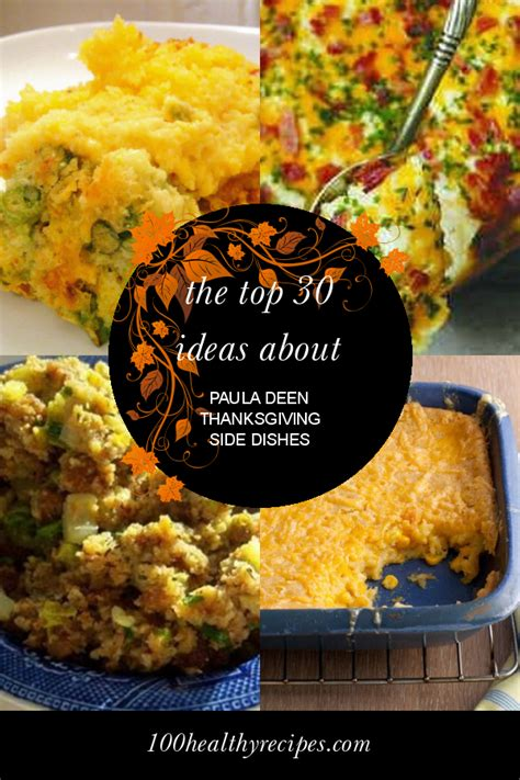 This content is imported from youtube. The top 30 Ideas About Paula Deen Thanksgiving Side Dishes ...