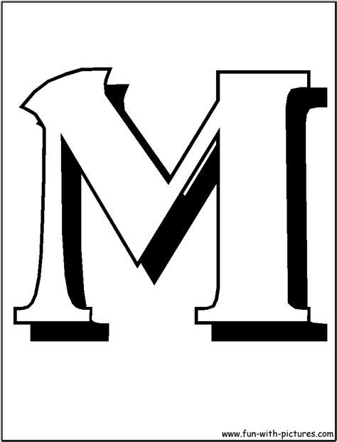 block letter m coloriage club penguin les beaux dessins de disney 224 29509