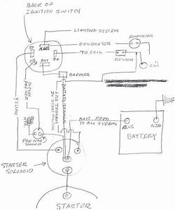Diesel Tractor Ignition Switch Wiring