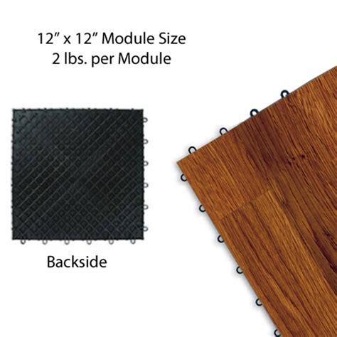 centiva wood grain interlocking snap lock tile trade show