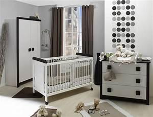 Chambre Bébé Moderne : ambiance chambre b b moderne ~ Melissatoandfro.com Idées de Décoration