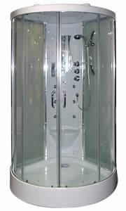 cabine de douche hammam 2 portes coulissantes chrome With cabine de douche porte coulissante