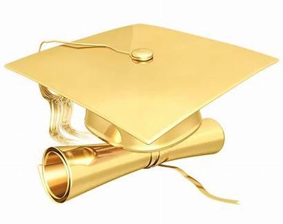 Graduation Clipart Gold Cap Class Congrats University