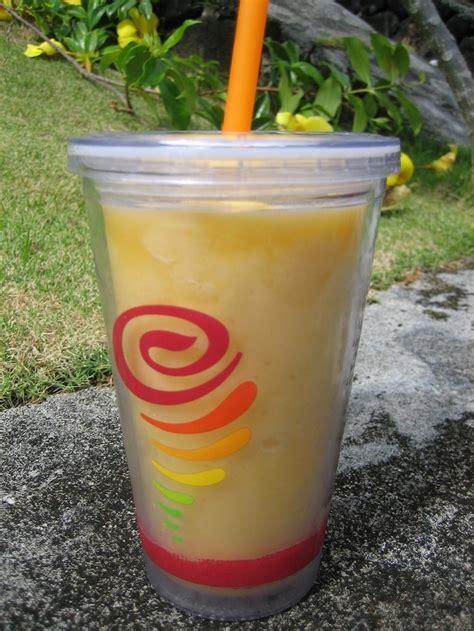 jamba juice make it light jamba juice 39 s carribean passion 1 cup frozen strawberries
