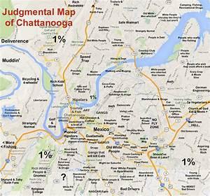 Chattanooga Tn Map   Adriftskateshop