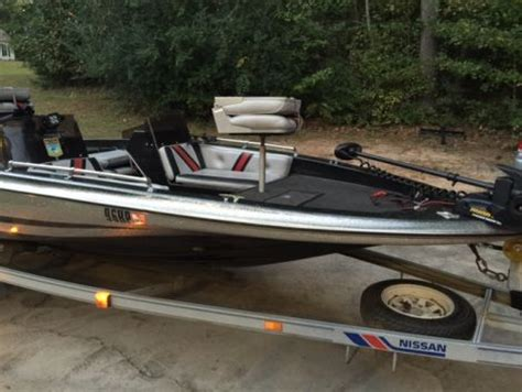 Nissan Fishing Boat by 1990 16 Foot Nissan Nitro Fishing Boat For Sale In United