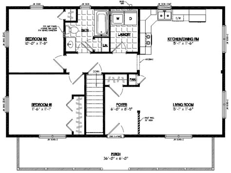 Musketeer Certified Home Floor Plans