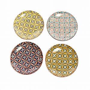 Buntes Geschirr Set : bunte teller hippy colour 4er set pols potten ~ Sanjose-hotels-ca.com Haus und Dekorationen