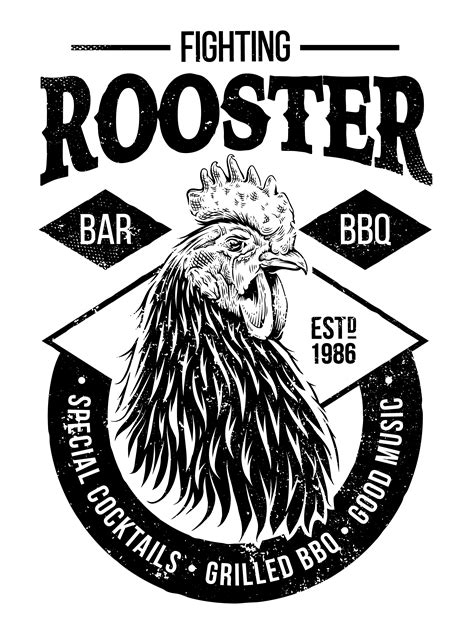 foto de Fighting Rooster Design Download Free Vectors Clipart