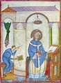 Pope Gregory I (c540-604) Painting by Granger
