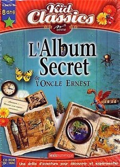 le jeu de cuisine l 39 album secret de l 39 oncle ernest sur pc jeuxvideo com