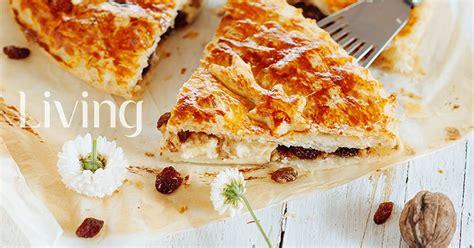 Tartë e kripur me arra, mjaltë e rrush të thatë - Pjata ...