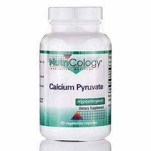 Calcium Pyruvate - 90 Vegetarian Capsules By Nutricology
