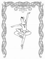 Coloring Pages Ballet Printable Dance Ballerina Sheets Dancing Dancer Print Irish Bestcoloringpagesforkids Jazz Nutcracker Barbie Positions Getcoloringpages Cool Comments sketch template