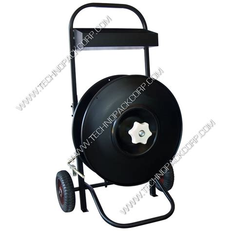 industrial strapping cart    inches core