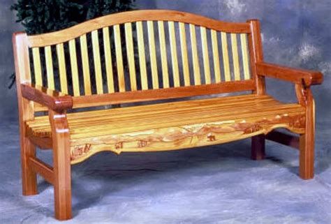 garden bench woodworking plan forest street designs