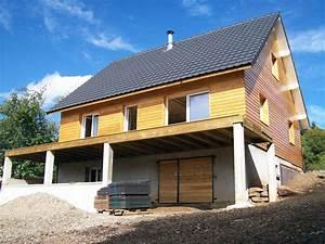 Ossature Bois Maison : maison ossature caillaud structures ~ Melissatoandfro.com Idées de Décoration