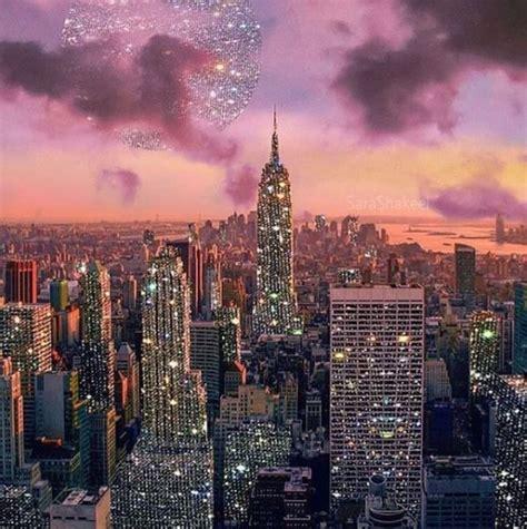 york  york captured  sunset  painted