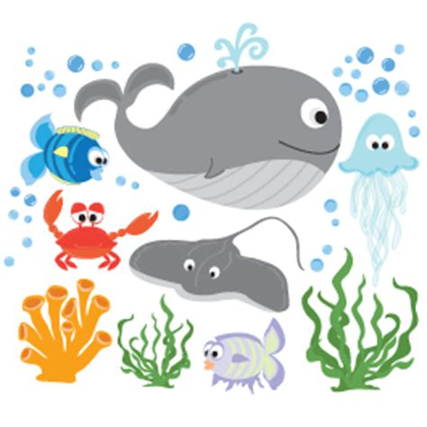 Sea Creatures Ii Wall Sticker Pack  Dezign With A Z. Mood Swing Signs. Diy Planner Cover Stickers. Measurement Signs Of Stroke. Custom Plastic Stickers. Meteorology Signs Of Stroke. Hockey Helmet Stickers. Morty Stickers. Epiglottis Surgery Signs