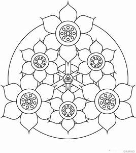 Free Printable Mandalas for Kids - Best Coloring Pages For ...