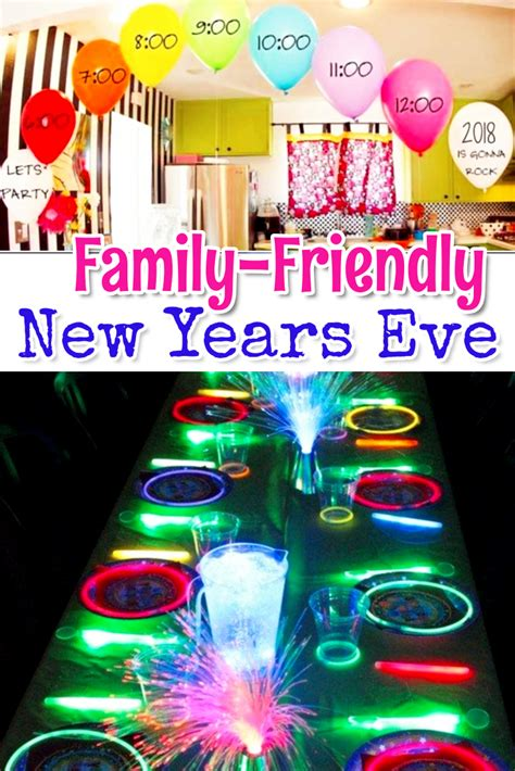 Family Friendly New Years Eve Party Ideas   Involvery